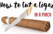 Giải đáp thắc mắc: Nên hay không cắt nhỏ điếu xì gà ra để hút?
