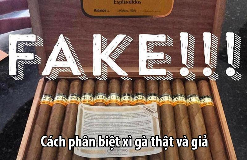 Xì gà Cuba thật – giả và cách nhận biết